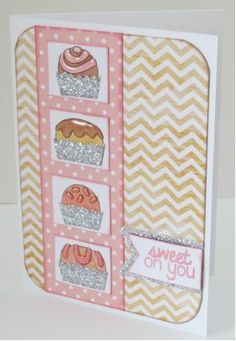 Pink and Main Sweet on You Photopolymer Clear Stamp Set