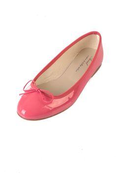 Bright Pink Ballerinas