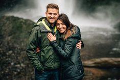 Latourell Falls Surprise Proposal - Sean Carr Photography   Portland Oregon Wedding Photography #weddingphotography