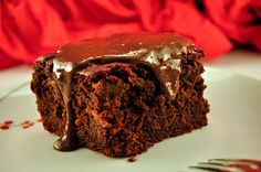 Decadent Double Chocolate BEET Cake...yes...Beets! Yum (Gluten Free yet certainly not Paleo, there is sugar.)