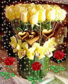 New birthday images wishes good morning Ideas Happy Birthday Flower, Happy Birthday Images, Happy Birthday Greetings, Birthday Photos, Beautiful Love Pictures, Beautiful Gif, Beautiful Flowers Wallpapers, Beautiful Rose Flowers, Love You Gif