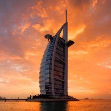 Romantic Choices, romance, burj al arab, sunset, dubai