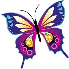 Сообщения Butterfly Clip Art, Butterfly Drawing, Butterfly Pictures, Butterfly Wallpaper, Butterfly Crafts, Butterfly Flowers, Butterfly Design, Blue Butterfly, Beautiful Butterflies