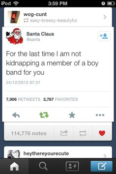 PLEASE SANTA PLEASE I'M BEGGING JUST BRING ME AUSTIN CARLILE OR BRENDON URIE PLEASE *breaks down crying*