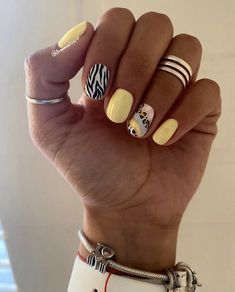 Stylish Nails, Trendy Nails, Chic Nails, Funky Nails, Dream Nails, Love Nails, My Nails, Girls Nail Designs, Fancy Nails Designs
