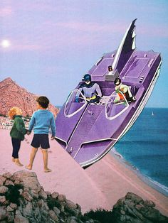 """Fished"" and ""Beached"" by Eugenia Loli"