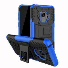 Shockproof Heavy Duty Stand Case Skin Cover For Samsung Galaxy S9 5.8inch Description: 100% Brand new. Designed for an active lifestyle,you can continue to use your device without removing from the case. Shock and impact resistant duarable Gel/silicone provides extra comfort for device. Durable rugged plastic design bu