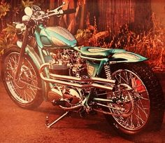 KUSTOM TRIUMPH THUNDERBIRD MOTORCYCLE ~ Hot Rod Pictorial # 2, 1968 by MoTo-Bunny on Flickr.