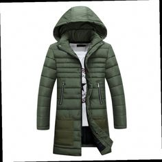 52.49$ Watch now - http://alieil.worldwells.pw/go.php?t=32765790699 - Warm Men's Long Down Jackets Slight Waterproof Casual Outerwear Snow Coats Thick Hooded Winter Duck Down Jacket For Man 3XL 52.49$