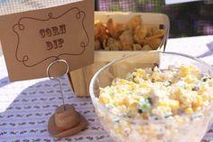 corn dip & fritos