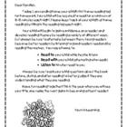 Print this letter with the Home Reading Log. This explains to parents your expectations....
