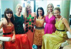Annabelle Nielson, Caroline Stanbury, Caprice Bourret, Juliet Angus, Noelle Reno, Marissa Hermer