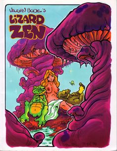 Vaughn Bode's Lizard Zen, 1st Edition Cover