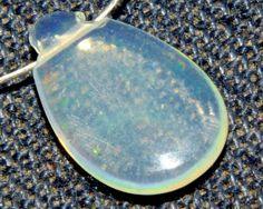 O-9860 Ethiopian Opal Welo Natural Gemstones Pear Plain Bead 1.00Cts xmm 1Pc $ | eBay
