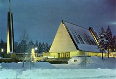 Joutjärven kirkko, Lahti - The church of Joutjarvi , Lahti ( where I got married)
