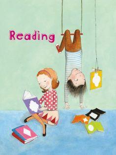 Reading / Leer (ilustración de Sophie Blackall)