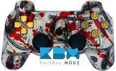 Grand Theft Auto V PS3 Controller - KwikBoy Modz #customcontroller #GTAV #GTA #grandtheftauto #moddedcontroller #controller #ps3 #ps3controller #gaming