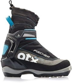 Fischer Women's Offtrack 5 BC My Style Cross-Country Ski Boots Black/Blue EU 38