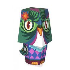 KROOOM χάρτινη κατασκευή 3D - Olivia Owl