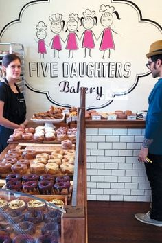 Five Daughters Bakery is located in the 12South neighborhood of Nashville, Tennessee and serves up some of the best doughnuts in town. #Nashville #MusicCity #NashvilleEats