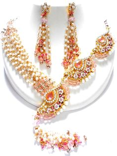Checkout our #awesome product Unique Trendy Imitation Crystal Rajwadi Necklace Set Jewelry / AZINRJ603-GPP - Unique Trendy Imitation Crystal Rajwadi Necklace Set Jewelry / AZINRJ603-GPP - Price: $150.00. Buy now at http://www.arrascreations.com/unique-trendy-imitation-crystal-rajwadi-necklace-set-jewelry-azinrj603-gpp.html