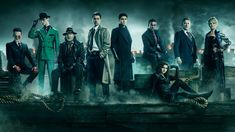 "Gotham Season 5 - Fox renewed the show for a fifth and final season shortly before its season four finale – that featured a major death – and promised that it will ""wrap up this unique origin story of the great DC Comics Super-Villains and vigilantes"" Gotham Series, Gotham Tv, Gotham Bruce, Jerome Gotham, Tv Series, Gotham Cast, Serie Tv, Batgirl, Catwoman"