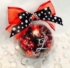 Personalized Ladybug Ornament by SpecialOrnaments on Etsy