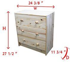 Small Childrens Dresser Kids 3 Drawer Dresser SFP http://www.amazon.com/dp/B00L2LJNPE/ref=cm_sw_r_pi_dp_TFrUwb0DDBGA6