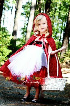 red riding hood costume - Click image to find more DIY & Crafts Pinterest pins