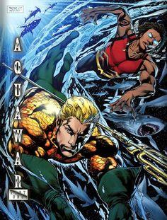 Aquaman and Aqualad