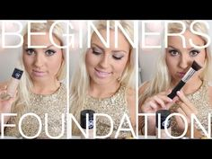 Beginners Foundation ♡ Step By Step Foundation Routine - Beginners Week Basics . Love this and help me figure out what i need to buy and how to use !