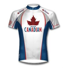 Molson Canadian Beer Cycling Jersey by Primal Wear with DeFeet Black Flame Socks
