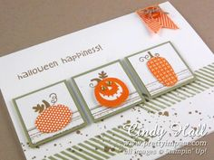 October 3, 2013    More Halloween Happiness    by Cindy Hall   Gorgeous-Grunge (Thanksgiving card idea)
