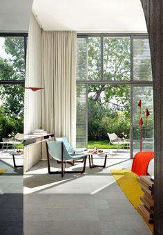 Hotel Sezz in Saint-Tropez by designer Christophe Pillet