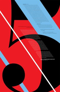 Topic #1 Typeface poster The column aesthetics are good and this poster creates shape. _______  TYPE THIS. by Caleb Newberg, via Behance