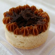 Mini tarta de chocolate!!!