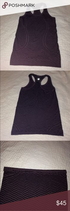 Lululemon Swifty Tech Tank worn once, perfect condition. lululemon athletica Tops Tank Tops