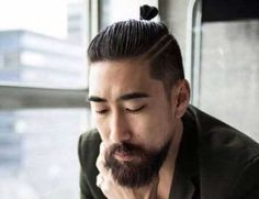 Short beards are smart and distinct if you know how to grow and style them the right way. Browse through our list of 47 best short beard styles that'll give you a lot of sexy, manly and elegant looks to choose from. Asian Man Haircut, Asian Men Hairstyle, Japanese Hairstyle, Older Mens Hairstyles, Man Bun Hairstyles, Haircuts For Men, Asian Hairstyles, Dreads With Undercut, Samurai