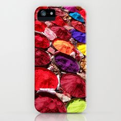Indian powders iPhone Case by Moonlight Studio