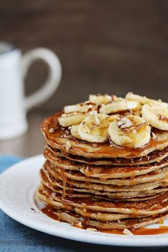 Buckwheat Banana Pancakes (GF)