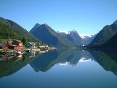 I really, really want to go to Norway someday, the land of my ancestors.