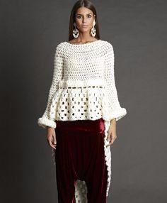 crochelinhasagulhas: Moda crochê by Zaitegui