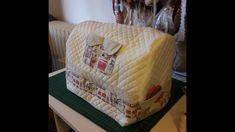 Tutorial Cucito Creativo coprimacchina da cucire cartamodello