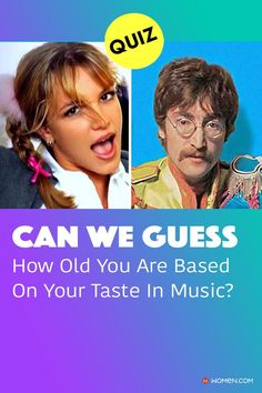 Can we guess how old you are based on your song and artist choices? Answer these seventeen questions to find out. #canweguess #musicpersonality #personalityquiz #tasteinmusic #yourtasteinmusic #musictrivia #favoritesongs #musictaste #musicpersonalityquiz #agequiz #howoldareyou #oldsoul #wecanguess Color Personality Test, Personality Quizzes, Old Soul, Tom Holland, Seventeen, How To Find Out, Old Things, Songs, Canning