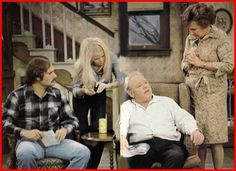 Archie Bunker tv show 70s Tv Shows, Old Shows, Childhood Tv Shows, My Childhood Memories, Sweet Memories, Archie Bunker, Thing 1, All In The Family, Bozo