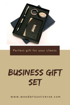 Upto 65% off This impressive choice of an executive gift set features a fine writing instrument (ballpoint pen), a business card case and a key tag.  #freeshipping   http://woodartsuniverse.com/catalog/product_info.php?cPath=46&products_id=470