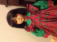 Shireem II in her Christmas dress