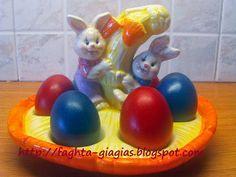 Τα φαγητά της γιαγιάς - Πασχαλινά αυγά - πως τα βάφουμε με φυσικές βαφές ή του εμπορίου