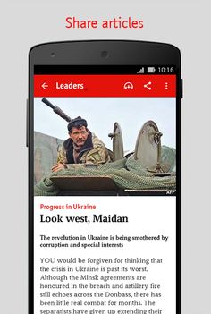 The Economist v2.1.8 [Subscribed]   The Economist v2.1.8 [Subscribed]Requirements:4.0.3 and upOverview:The best way to read The Economist on your Android device.  FEATURES  Each weeks issue available from 9pm London time each Thursday  Download each issue to your device to read without an internet connection  Switch easily between reading and listening with The Economist in audio  Store and access back issues  Purchase single issues in app  Subscribe from within the app for full access to…