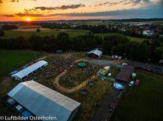 Tolle Musik und noch viel besseres Wetter beim 25. Open Air in Gergweis. Wie hat es Euch gefallen? Ist der Sonnenuntergang nicht wunderschön? #OpenAir #Gergweis #Luftbildaufnahme #DJI #Inspire1#LuftbilderOsterhofen